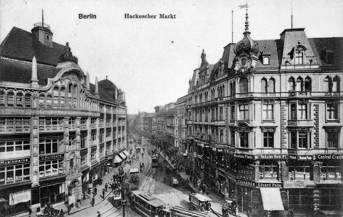 Hackesche Höfe um 1910