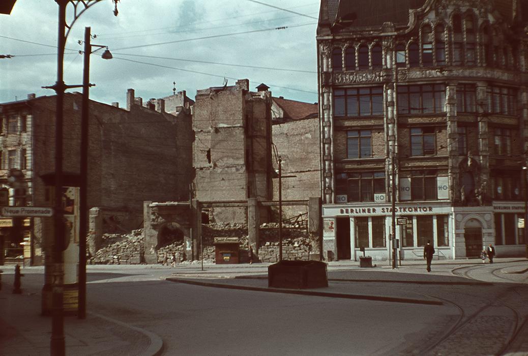 Gebäudezustand 1950